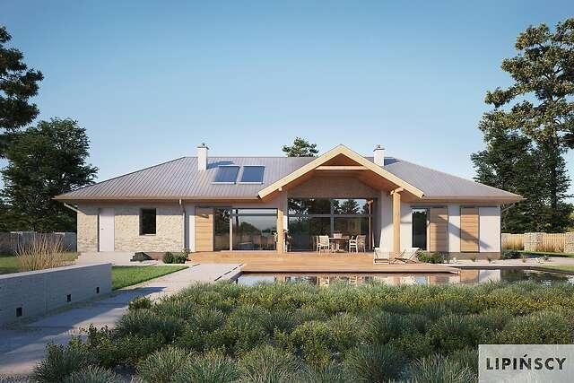 Zobacz powiększenie wizualizacji ogrodowej - projekt Adelajda