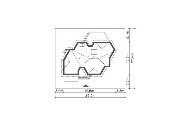 Zobacz powiększenie działki - projekt Sondenberg