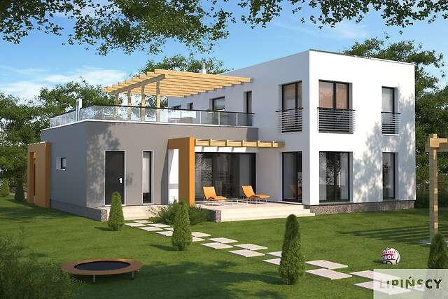Zobacz powiększenie wizualizacji ogrodowej - projekt Cork II