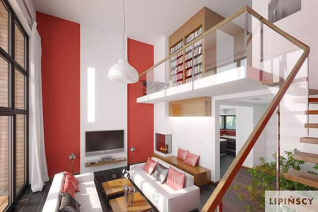Zobacz powiększenie wizualizacji wnętrza - projekt Delft II