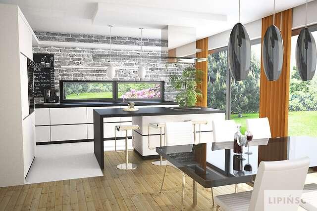 Zobacz powiększenie wizualizacji wnętrza - projekt Carrara II