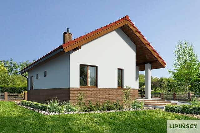 Zobacz powiększenie wizualizacji frontowej - projekt Lucca VIII