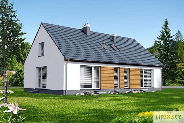 Zobacz powiększenie wizualizacji ogrodowej - projekt Ostenda