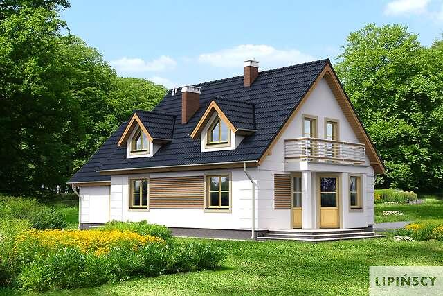 Zobacz powiększenie wizualizacji ogrodowej - projekt Saloniki III