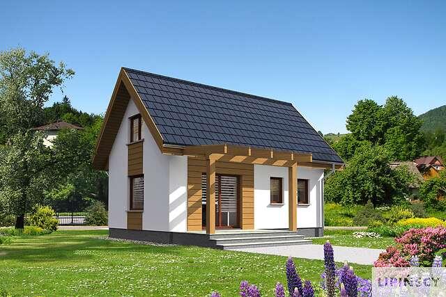 Zobacz powiększenie wizualizacji ogrodowej - projekt Martin
