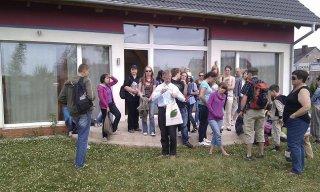 Goście z Polskiego Klubu Ekologicznego odwiedzili nasz dom pasywny.
