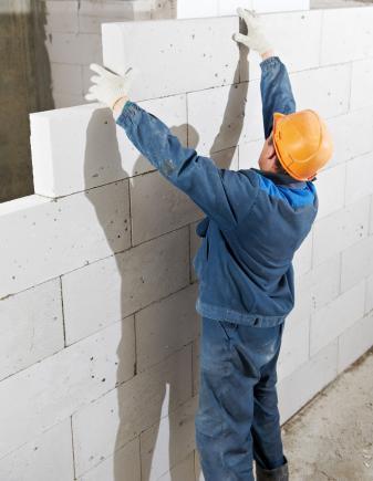 Ciche ściany betonu komórkowego