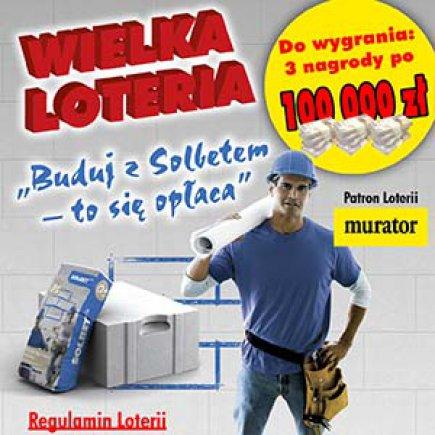 Rusza Wielka Loteria Buduj z Solbetem - to się opłaca