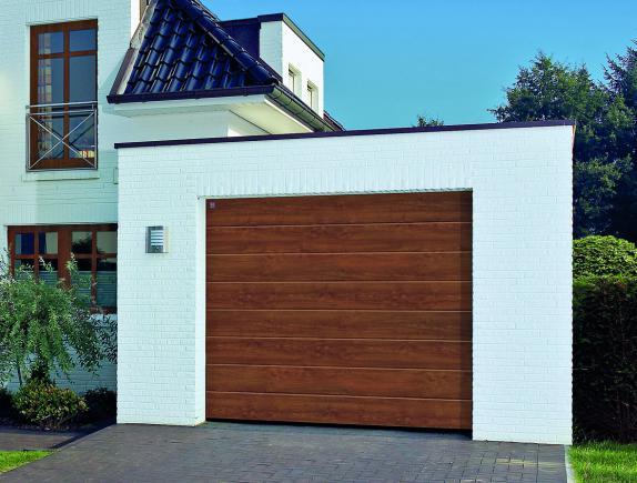 DecoColor. Segmentowa brama garażowa RenoMatic light firmy Hormann w nowej odsłonie