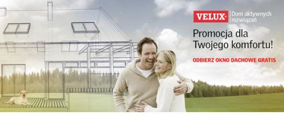 Kup projekt z kolekcji Dom aktywnych rozwiązań i odbierz okno dachowe gratis!