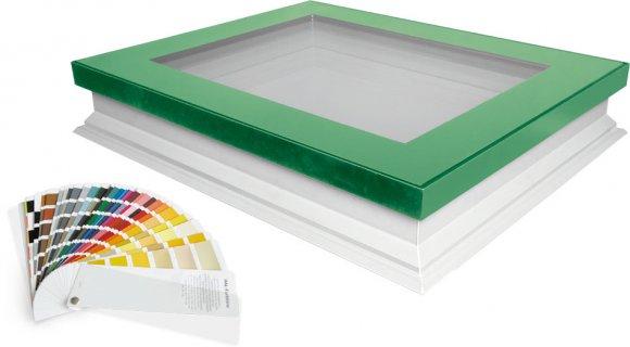 Innowacyjne okno do dachów płaskich DEF w wersji ColourLine!