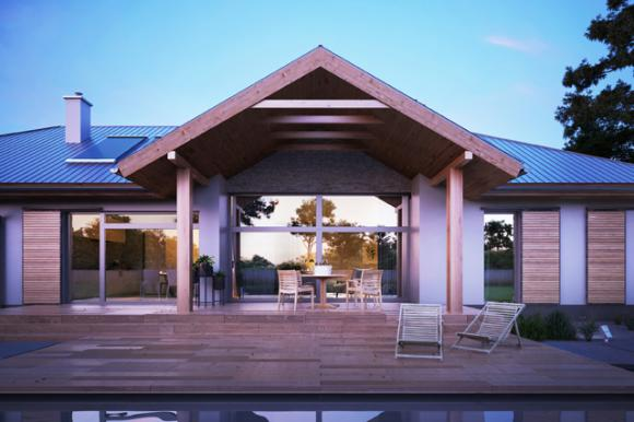 Nowości projektowe - wygodne domy parterowe