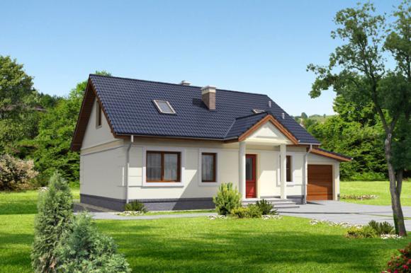 Sierpniowa promocja na projekty małych domów parterowych