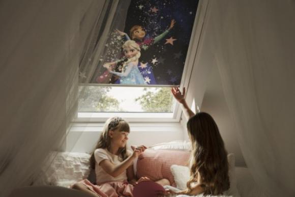 Nowa kolekcja rolet zaciemniających Disney & VELUX Dobranoc