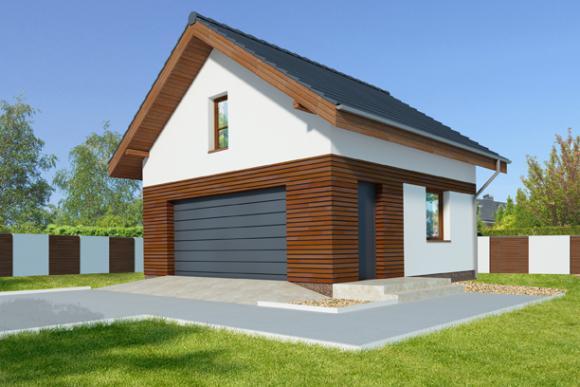 Aż do końca 2018 roku 100 zł rabatu na projekty garaży i budynków gospodarczych