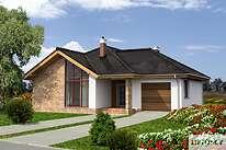 Projekty domów jednorodzinnych - Zobacz projekt - Ajaccio III