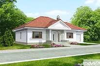 Projekty domów jednorodzinnych - Zobacz projekt - Lucia V