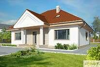 Projekty domów jednorodzinnych - Zobacz projekt - Lucia IX