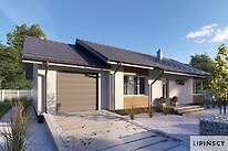 Projekty domów jednorodzinnych - Zobacz projekt - Royan II