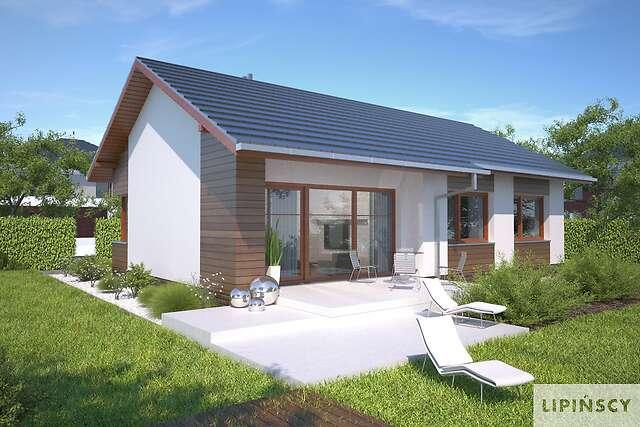 Zobacz powiększenie wizualizacji ogrodowej - projekt Royan IV