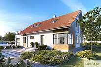 Projekty domów jednorodzinnych - Zobacz projekt - Royan V
