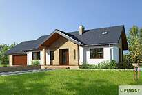 Projekty domów jednorodzinnych - Zobacz projekt - Rockville II