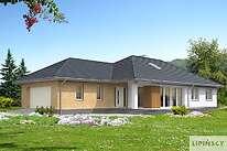 Projekty domów jednorodzinnych - Zobacz projekt - Verona II
