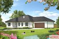 Projekty domów jednorodzinnych - Zobacz projekt - Aleksandria II