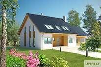 Projekty domów jednorodzinnych - Zobacz projekt - Brugia