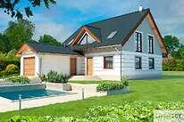 Projekty domów jednorodzinnych - Zobacz projekt - Montreal III