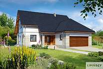 Projekty domów jednorodzinnych - Zobacz projekt - Dorset