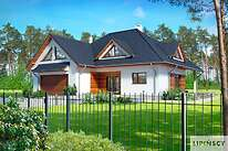 Projekty domów jednorodzinnych - Zobacz projekt - Avalon