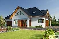 Projekty domów jednorodzinnych - Zobacz projekt - Avalon V