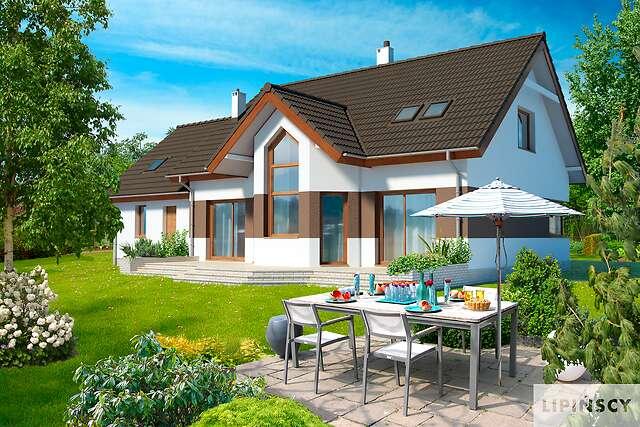 Zobacz powiększenie wizualizacji ogrodowej - projekt Jena