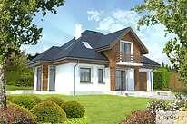 Projekty domów jednorodzinnych - Zobacz projekt - Dijon