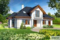 Projekt domu - DCP234a-Dijon II