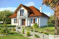 Projekty domów jednorodzinnych - Zobacz projekt - Dijon IV