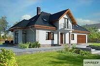 Projekty domów jednorodzinnych - Zobacz projekt - Dijon V