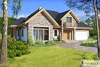 Projekty domów jednorodzinnych - Zobacz projekt - Dayton II
