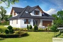 Projekty domów jednorodzinnych - Zobacz projekt - Bolonia