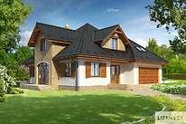 Projekty domów jednorodzinnych - Zobacz projekt - Bolonia II