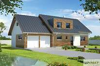 Projekty domów jednorodzinnych - Zobacz projekt - Montreux