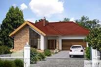 Projekty domów jednorodzinnych - Zobacz projekt - Ajaccio IV