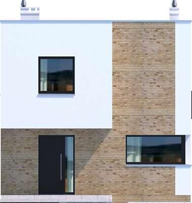 Elewacja frontowa - projekt Delft III