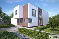 Projekty domów jednorodzinnych - Zobacz projekt - Delft IV