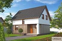 Projekty domów jednorodzinnych - Zobacz projekt - Felix