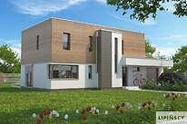 Projekty domów jednorodzinnych - Zobacz projekt - Santos II