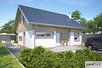 Projekty domów jednorodzinnych - Zobacz projekt - Meribel