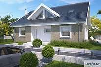 Projekty domów jednorodzinnych - Zobacz projekt - Rodez