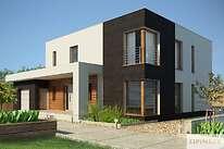 Projekty domów jednorodzinnych - Zobacz projekt - Carrara